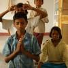 【インド】ブッダ・ガヤ お茶目なホームステイ先の子供達
