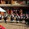 【中国雲南省麗江】ナシ族の健康ダンス