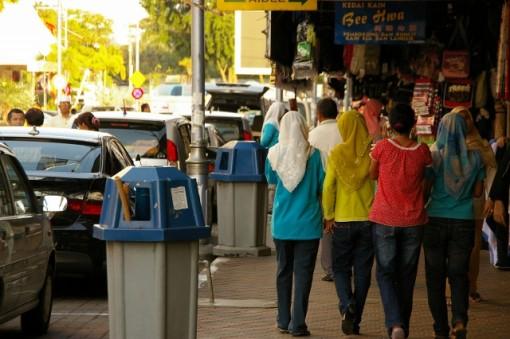 マレーシア ムスリムの女性達