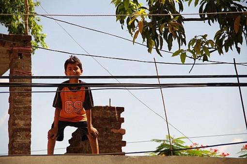 ネパール ルンビニー 子供達