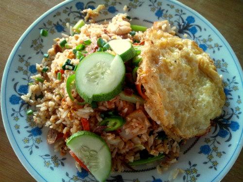 【マレーシア・マラッカ】とっても美味しいナシゴレン☆  ※2013年5月追加編集