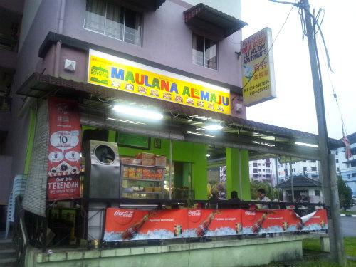 【キャメロンハイランド】リーズナブルで美味しいインド料理 『Maulana Al-Maju』