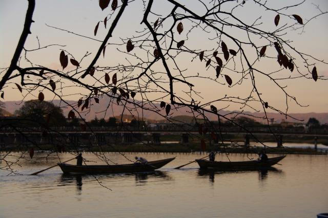 【京都】 嵐山の紅葉