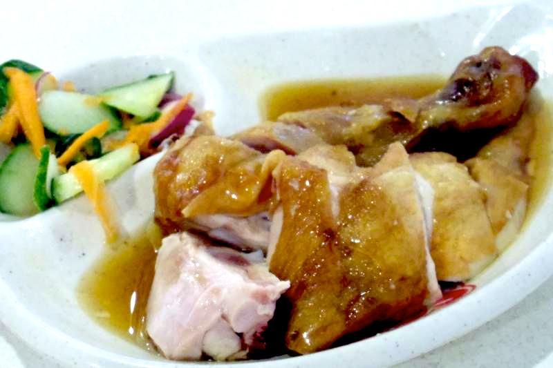 【ブルネイローカルフード】美味しい海南鶏飯