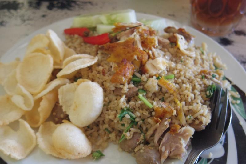【東ティモール】ディリで美味しいナシゴレンがある食堂