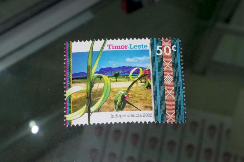 東ティモール ディリ 郵便局 切手