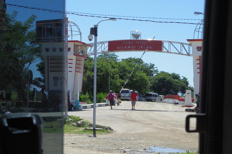 【東ティモール】ディリから陸路で国境越え インドネシア・クパンへ