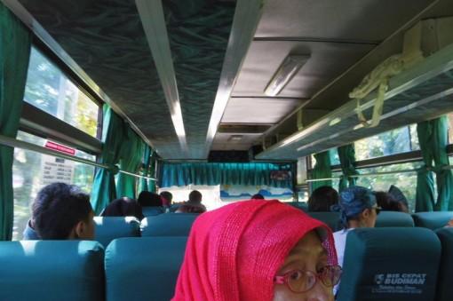 パンガンダラン バンドン バンドゥン Bandung バス