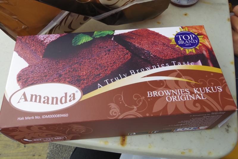バンドン Bandung ケーキ ブラウニー Amanda
