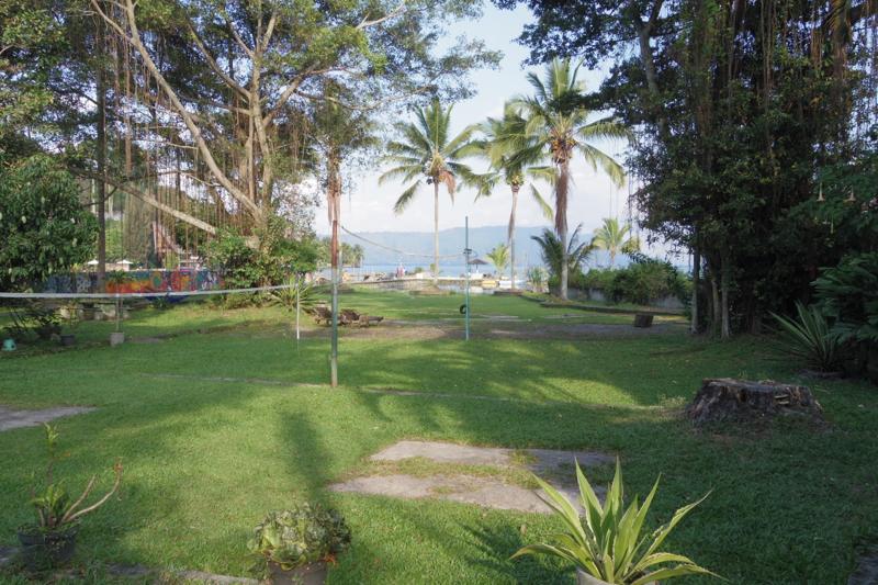 トパ湖 サモシール島 tuktuk Bagus bay バグースベイ