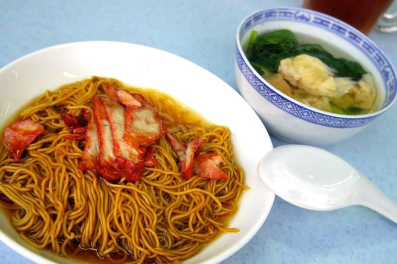イポー ワンタンミー・ドライ IPOH 威威雲呑麺 WAIWAI WAN TAN MEE