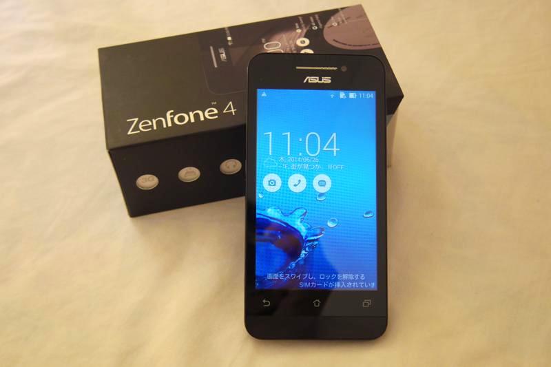 ASUS ZenFone4 コスパ 安い スマホ