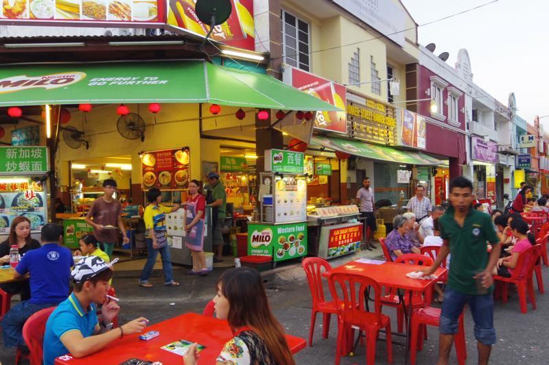 【マラッカ】チャイナタウン近くにある華人系ホーカー『文化街美食中心 (Jonker Street Hawker Centre)』