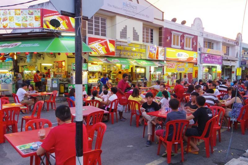 マラッカ 中華 屋台 チャイナタウン 文化街美食中心