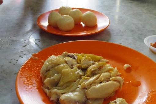 マラッカ チキンライス 海南鶏飯粒 中華茶室