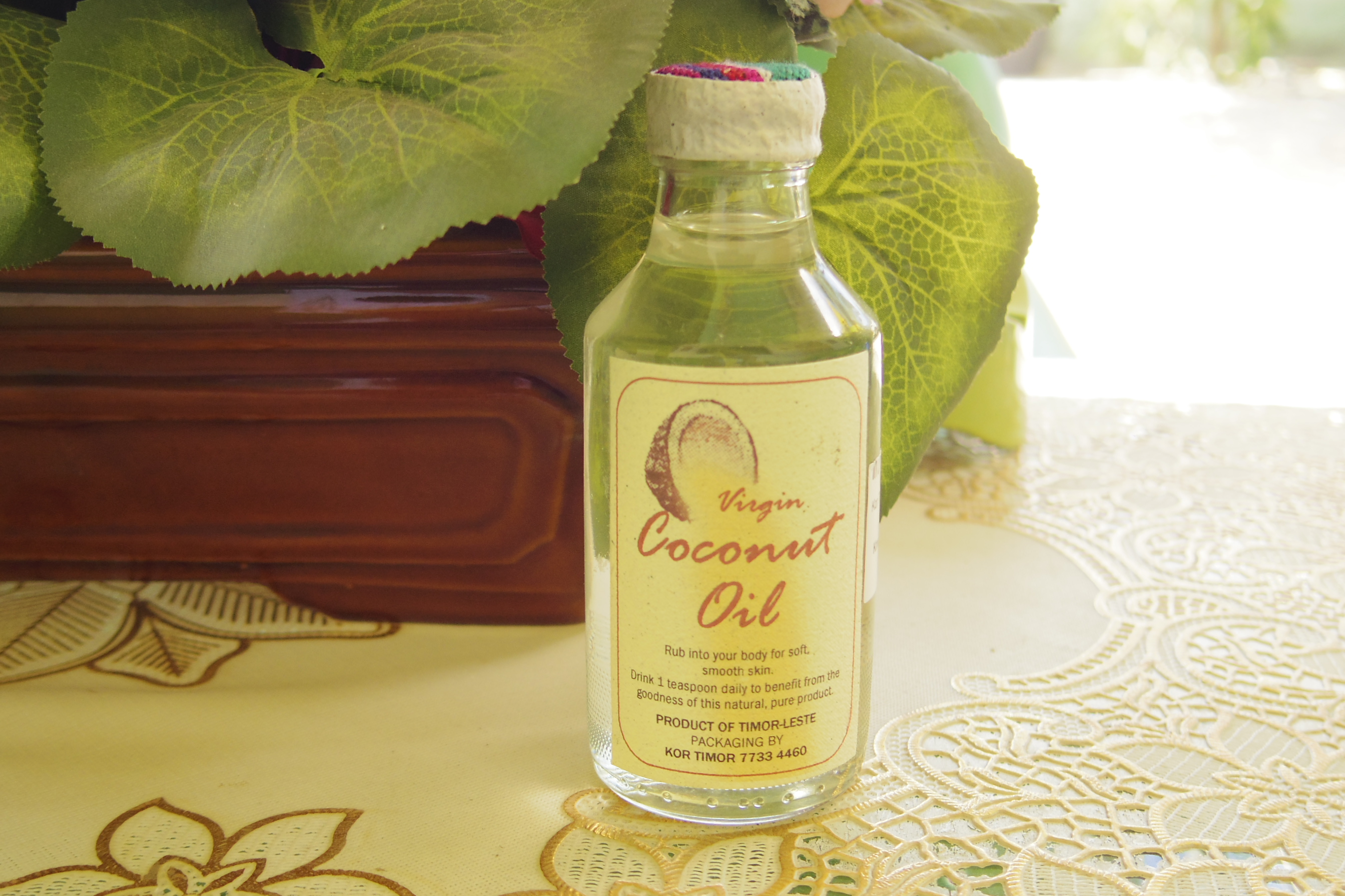 【東ティモール】お土産におすすめ!高品質のオーガニックココナッツオイルとソープ