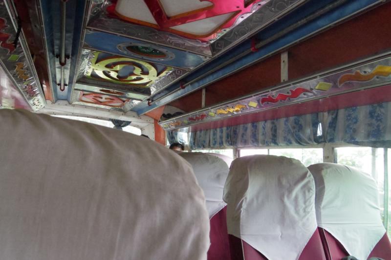 ポカラからタンセン 行き方 ローカルバス