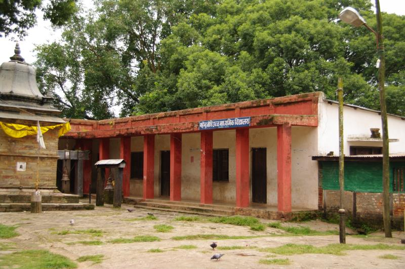 ネパール タンセン Tansen 学校