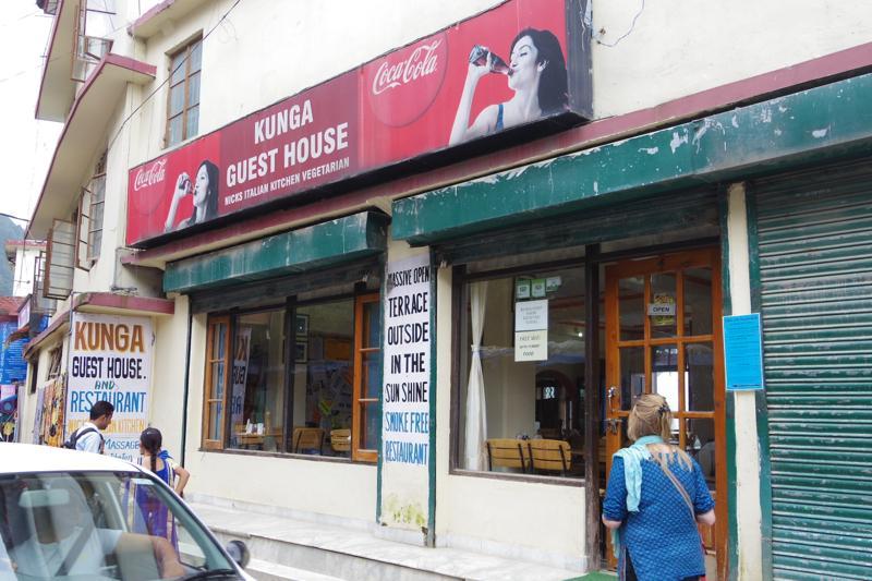 インド ダラムサラ イタリアン ピザ ケーキ クンガゲストハウス KUNGA GUEST HOUSE)
