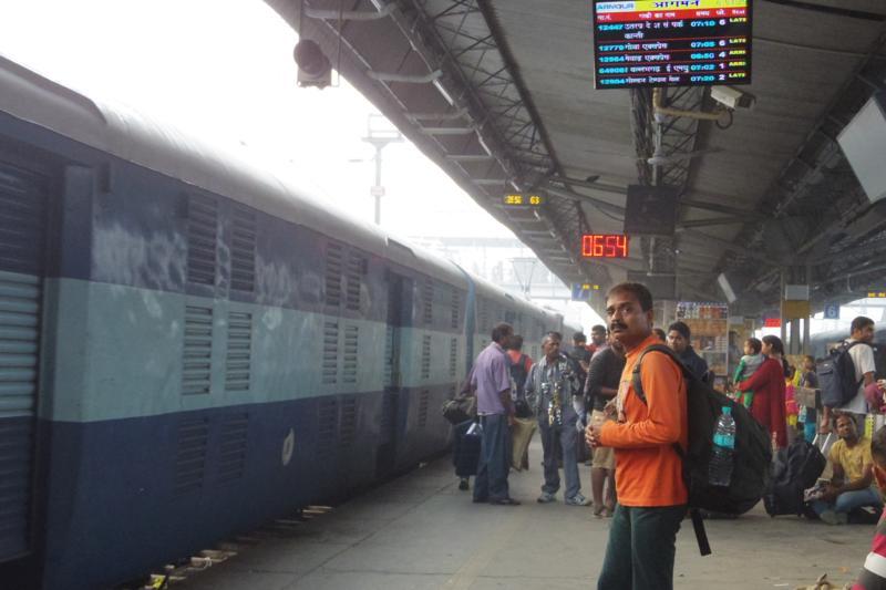 【インド移動】デリーから終点マドゥライまで列車45時間旅!