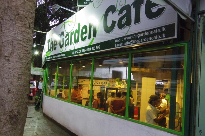 キャンディ 美味しい 食堂 ザ・ガーデンカフェ THE GARDEN CAFE