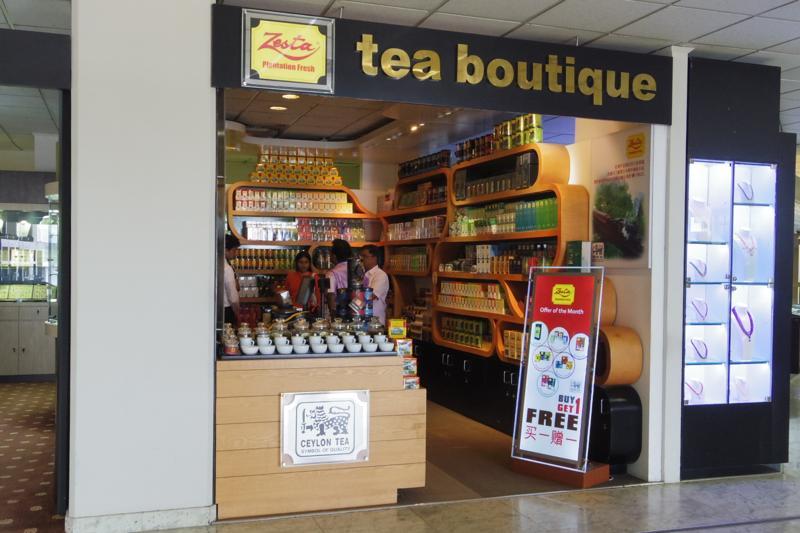 コロンボ 空港 お土産 紅茶 マックウッズ