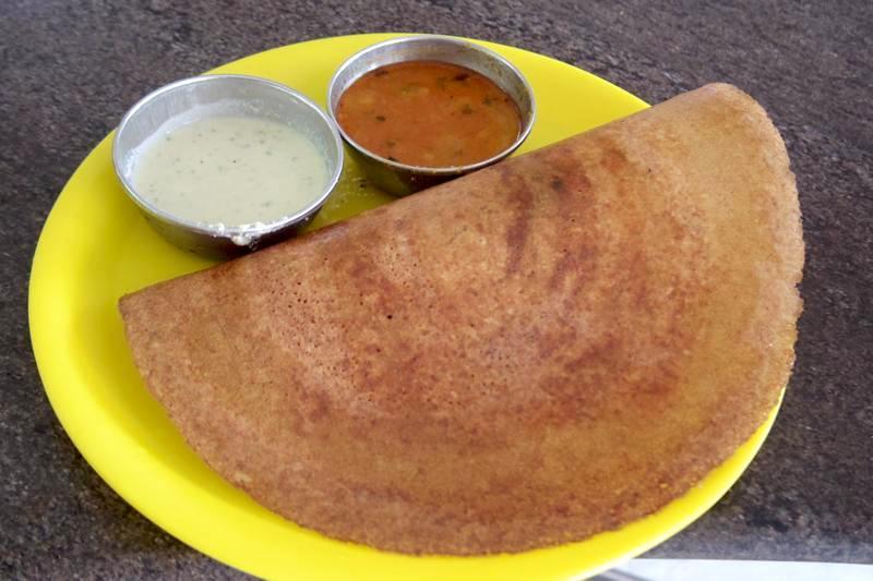【バンガロール】南インド系スナックのDosaやIDLYなどが美味しい『Vijaya Cafe』