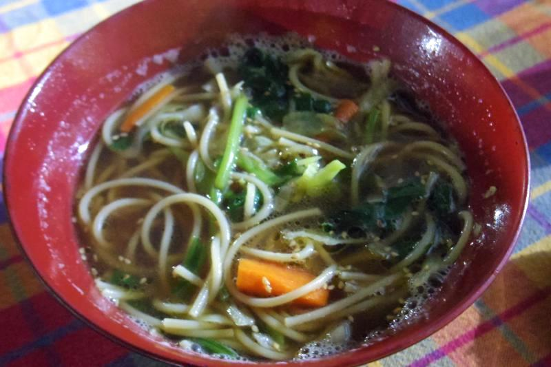 ハンピ 日本食 お好み焼き 美味しい SHIVA GUEST HOUSE
