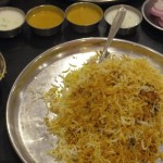 インドでは誰もが知るハイデラバード名物!マトンビリヤーニを食べてみた!