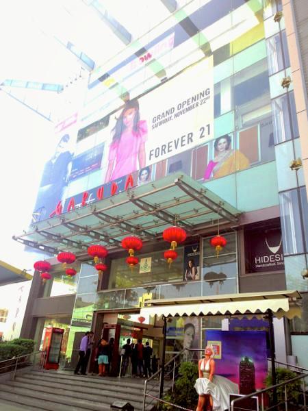 バンガロール ショッピングモール ショッピング 買い物 ドラッグストア