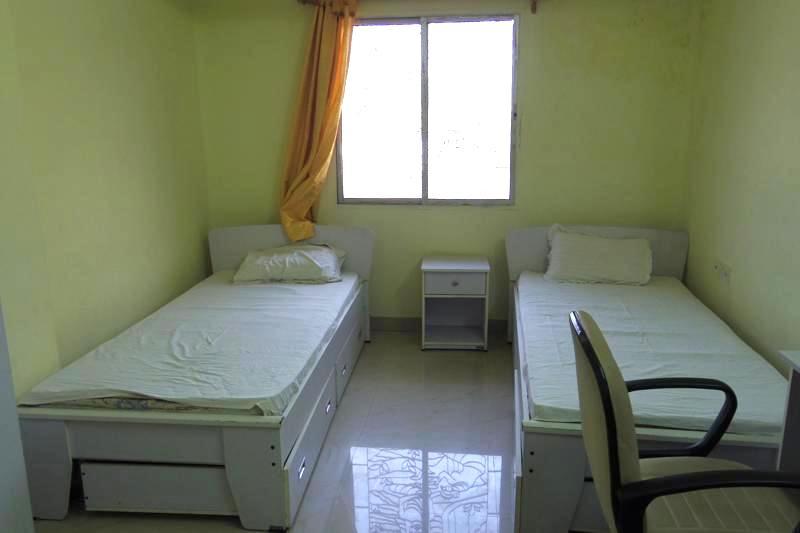 【コルカタ】とても清潔で快適なツインの部屋が1泊600ルピー!スリランカ寺の宿泊施設