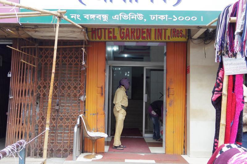 ダッカ 安宿 安ホテル グリスタン Hotel Garden International