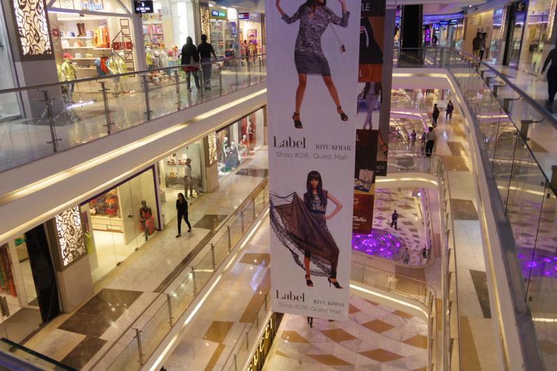 【コルカタ】2014年にできた新しいショッピングモール『Quest Mall』とへ行って来ました!