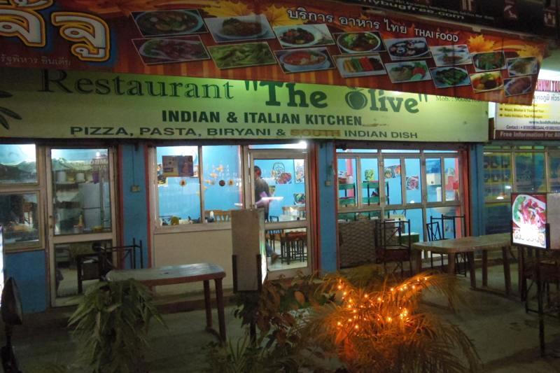 ブッダガヤ タイ人が作る本物のタイ料理が食べられるレストラン