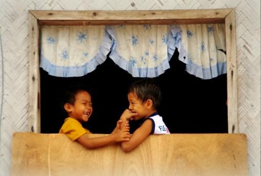 フォトギャラリー フィリピン パラワン島 プエルトプリンセサ 子供