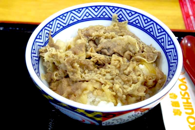タイ バンコク 吉野家 牛丼 YOSHINOYA