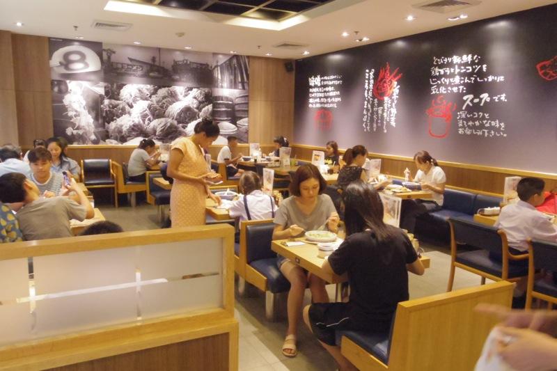 タイ バンコク 日本食 中華ラーメン 8番ラーメン