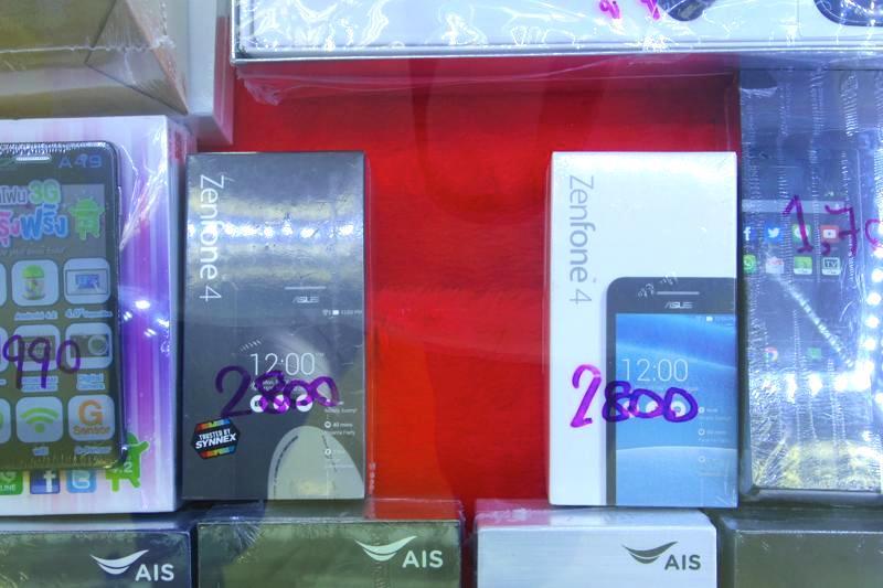 バンコク MBK ASUS ZenFone4 ゼンフォン 安い