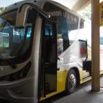 イポーから太平(タイピン)までのバス移動