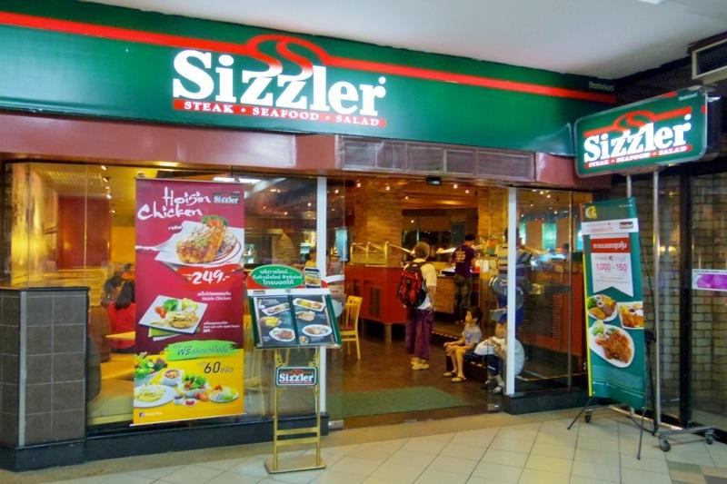 タイ バンコクチェンマイ Sizzlerシズラー サラダバー 野菜たっぷり フィッシュANDチップス