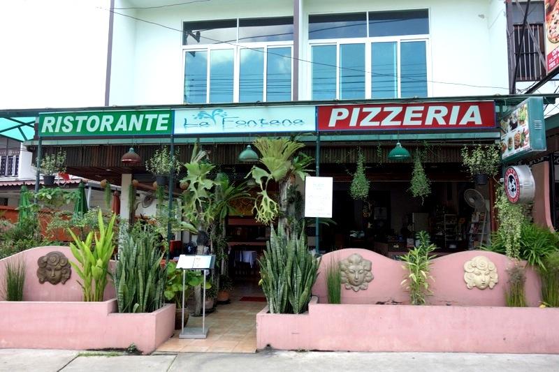 チェンマイ イタリアンレストラン ピザ パスタ La Fontana