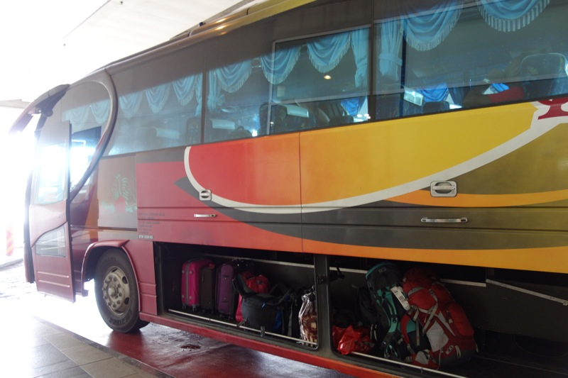 KLIA2・TBSからキャメロンハイランドまでバスでの行き方