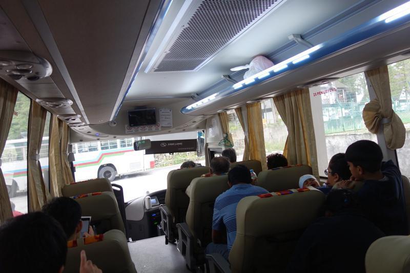 キャメロンハイランドからイポー バス 行き方