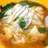 【イポー】プリンで有名な天津茶室。海老鶏肉のライスヌードル(蝦鶏絲沙河粉)もイチオシ!!