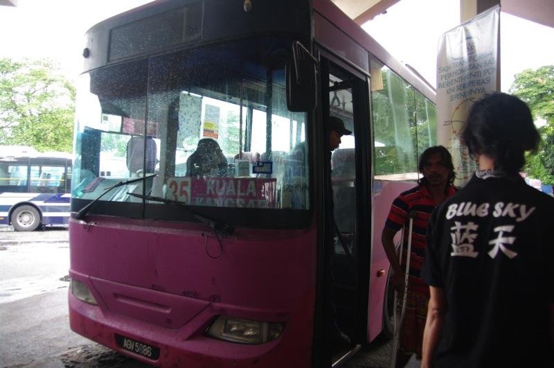 イポーからクアラカンサーへバスでの行き方。マレーシアで一番美しいウブディアモスクへ行こう!※2019.10更新