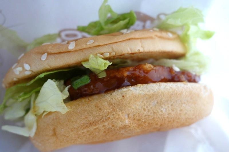 台湾高雄台南南部 ローカルファーストフード 丹丹漢堡 丹丹バーガー ハンバーガー