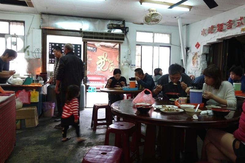 台南安平 美味しい麻醤麺 唖巴麺店 麺食堂