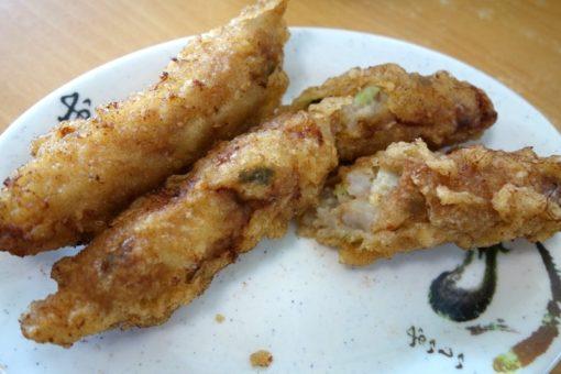台南安平 陳家蚵捲 美味しい エビ巻き海老巻き 牡蠣巻き
