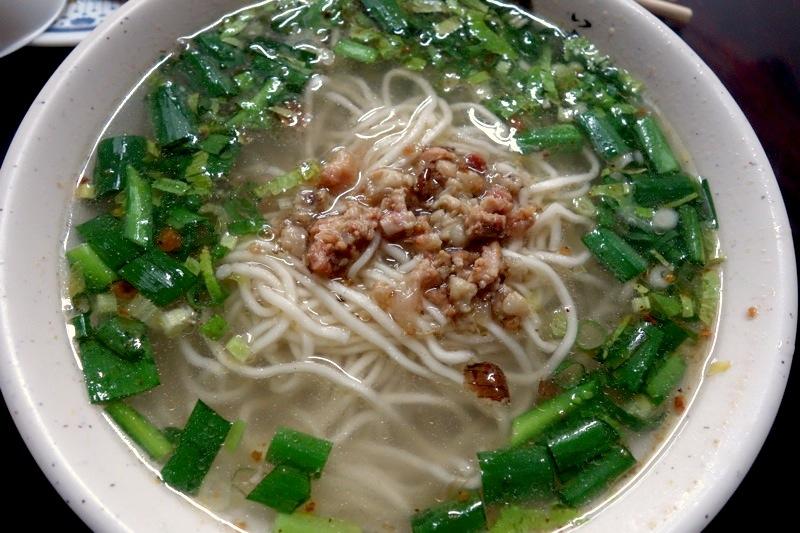 台南安平 意麺 美味しい オススメ人気 黒猫汕頭意麺