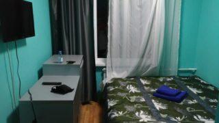 【アルマトイ】トイレ・バス付でおトクな安ホテル『ホテル タハール (Hotel Tahar)』